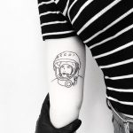 Valentina Vladimirovna Tereshkova tattoo by tattooist pokeeeeeeeoh
