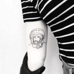 Valentina Vladimirovna Tereshkova tattoo by tattooist pokeeeeeeeoh
