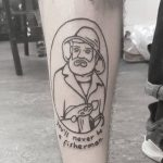You'll never be a fisherman by tattooist Mr.Heggie