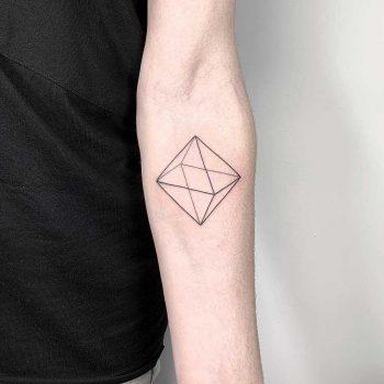 3D rhombus by Sara Kori