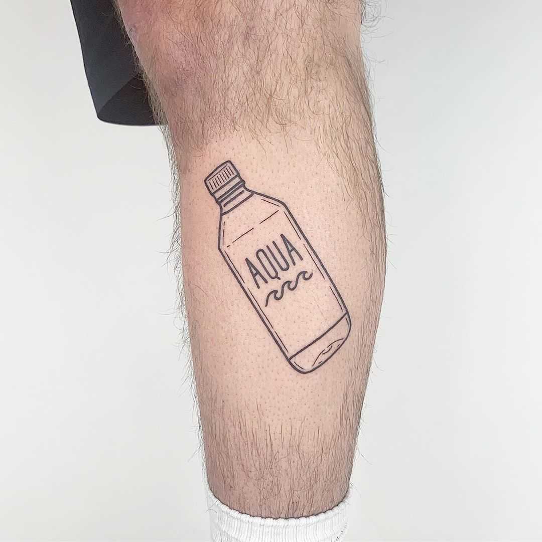 Aqua tattoo by @themagicrosa