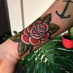 Awesome rose by tattooist Alejo GMZ