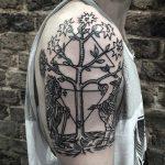 Azoth tattoo by tattooist MAIC