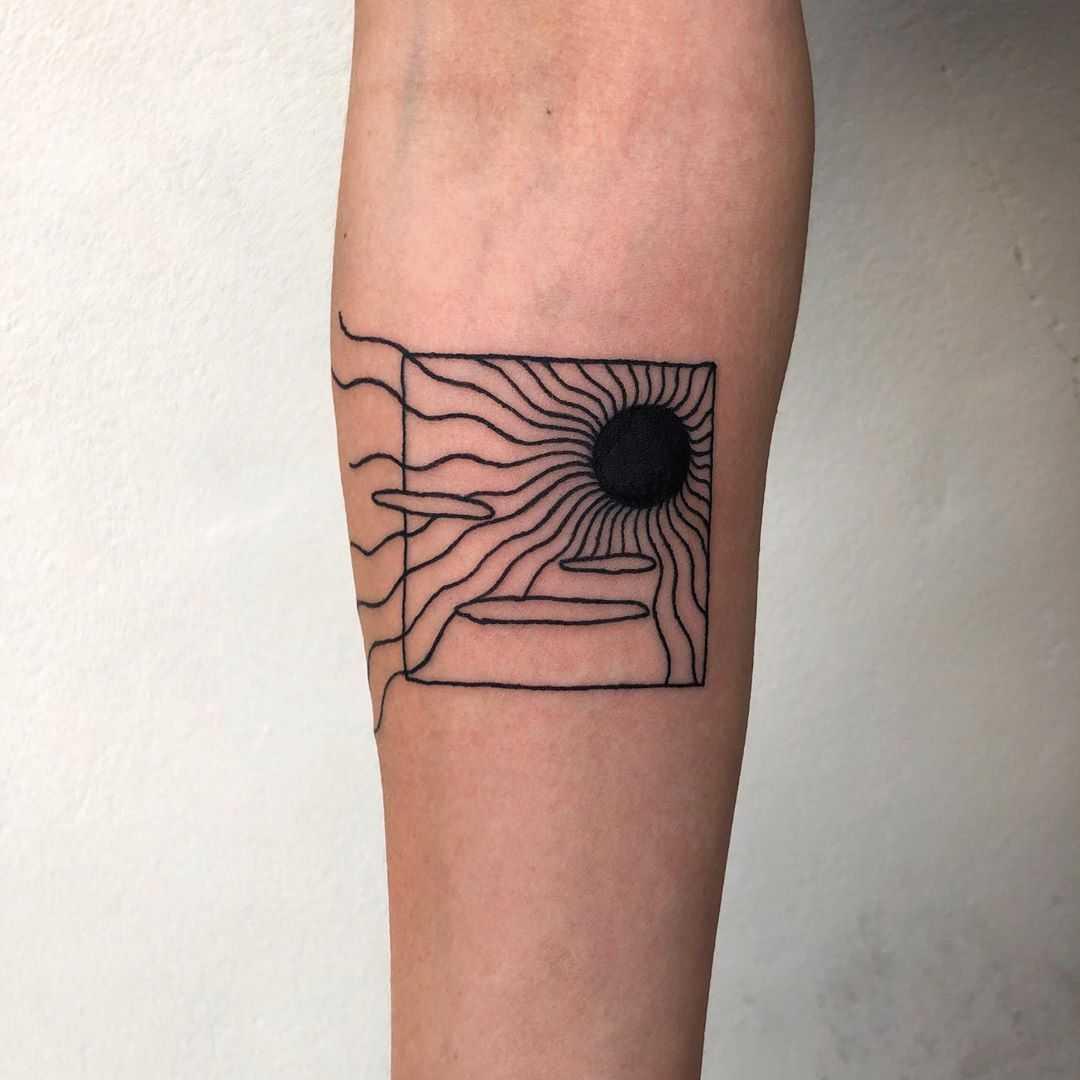 Black sun by @gekku