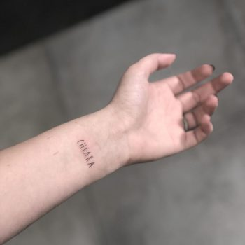 Chiara tattoo by Marco Sorgato