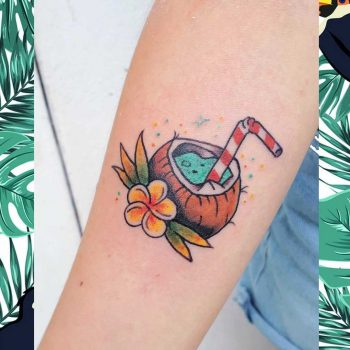 Coco drink by @silly_girl_tatts