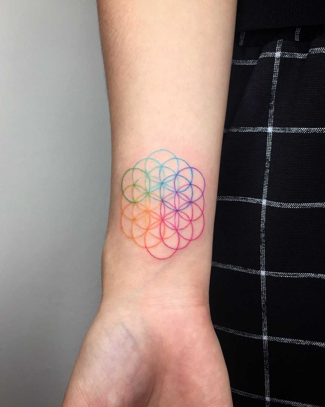 Coldplay's Flower Of Life by Choco Chiang