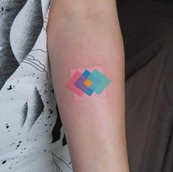 Colorful rectangles by Yaroslav Putyata