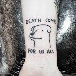 Death comes for us all by tattooist Mr.Heggie