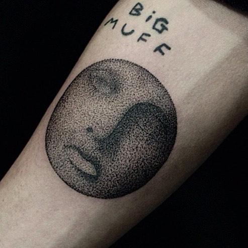 Dot-work face by Yaroslav Putyata