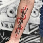 Drumsticks by tattooist rodmaztattt