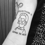 Everything is going to heck by tattooist Mr.Heggie
