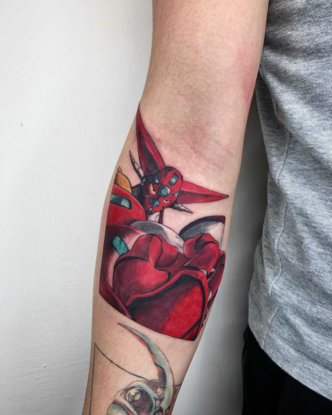 Getter Robo tattoo by Choco Chiang