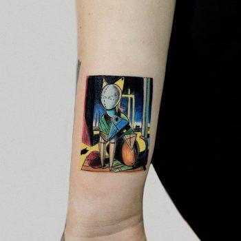 Giorgio De Chirico painting by Hakan Adik
