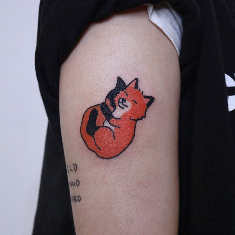 Kitty love by @jizottt