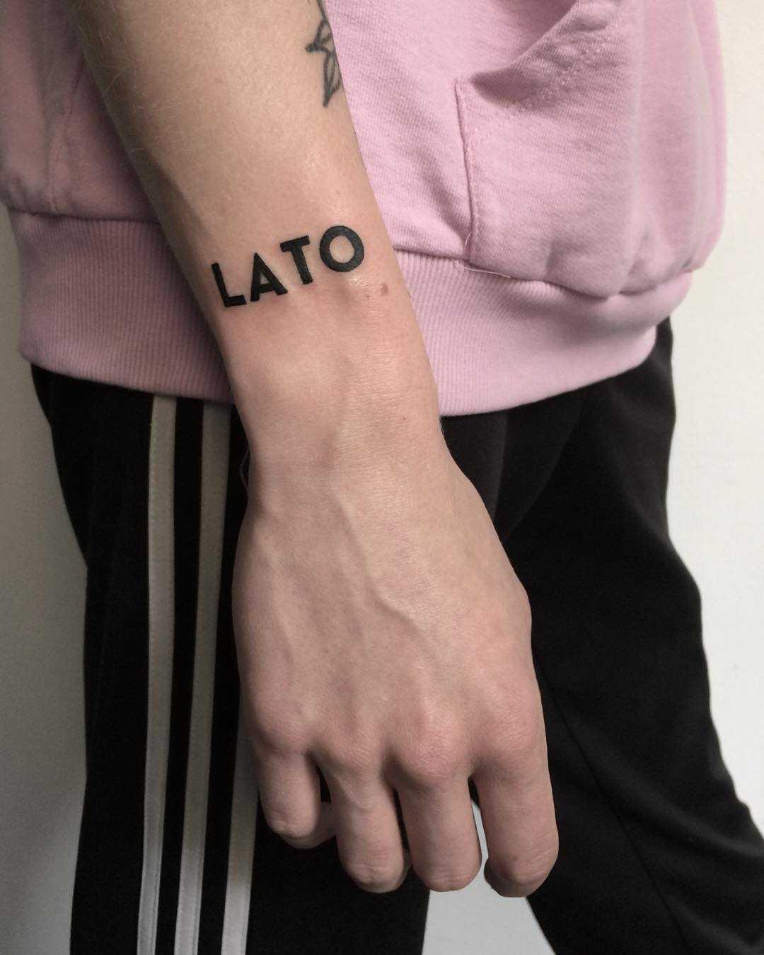 Lato tattoo by @skrzyniarz_