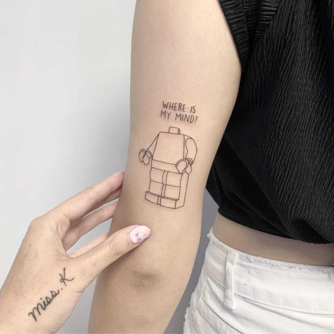 Lego man by Sara Kori