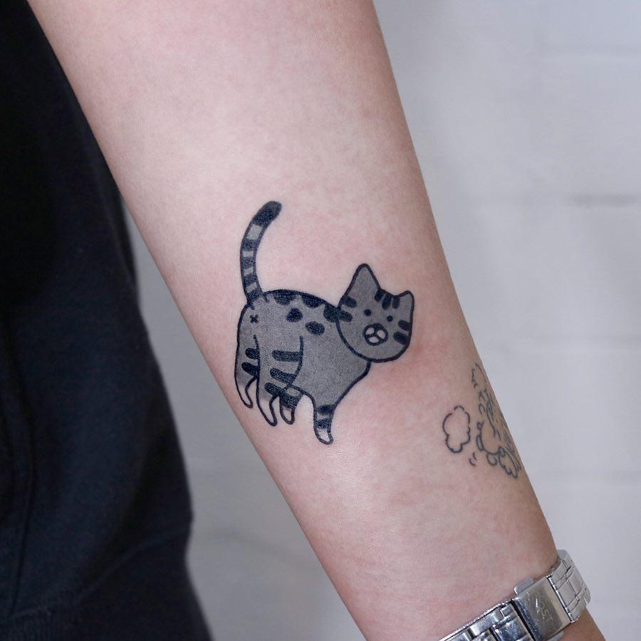 Lovely kitty by @jizottt