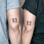 Matching sibling tattoos by Choco Chiang
