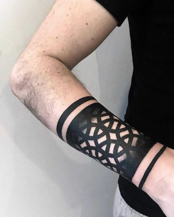 Perforated pattern by tattooist NEENO