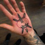 Pierced heart by Mark Walker