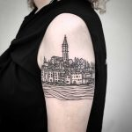 Rovinj tattoo by tattooist MAIC