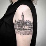 Rovinj tattoo by tattooist MAIC