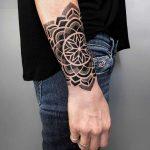 Snowflake mandala by tattooist NEENO