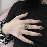Spider ring by @ylitenzo