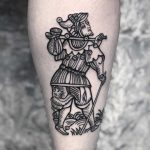 The fool by tattooist MAIC