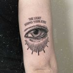 The light behind your eyes by tattooist rodmaztattt