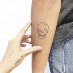 Tiny skull by Sara Kori