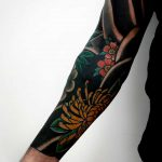 Traditional Japanese style sleeve by rocotatt