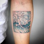 Tsunami wave by Choco Chiang