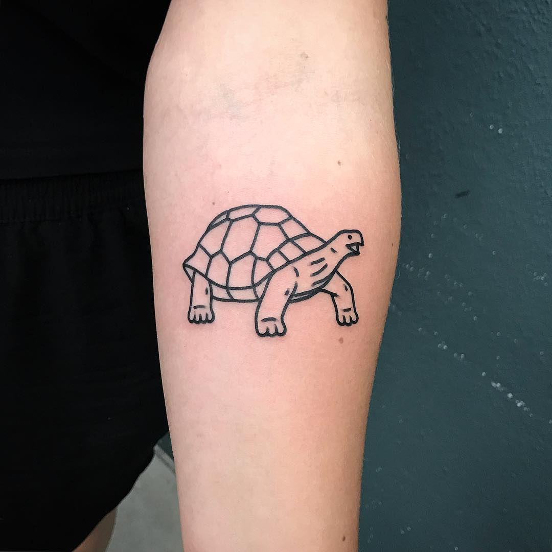 Turtle tattoo by @themagicrosa