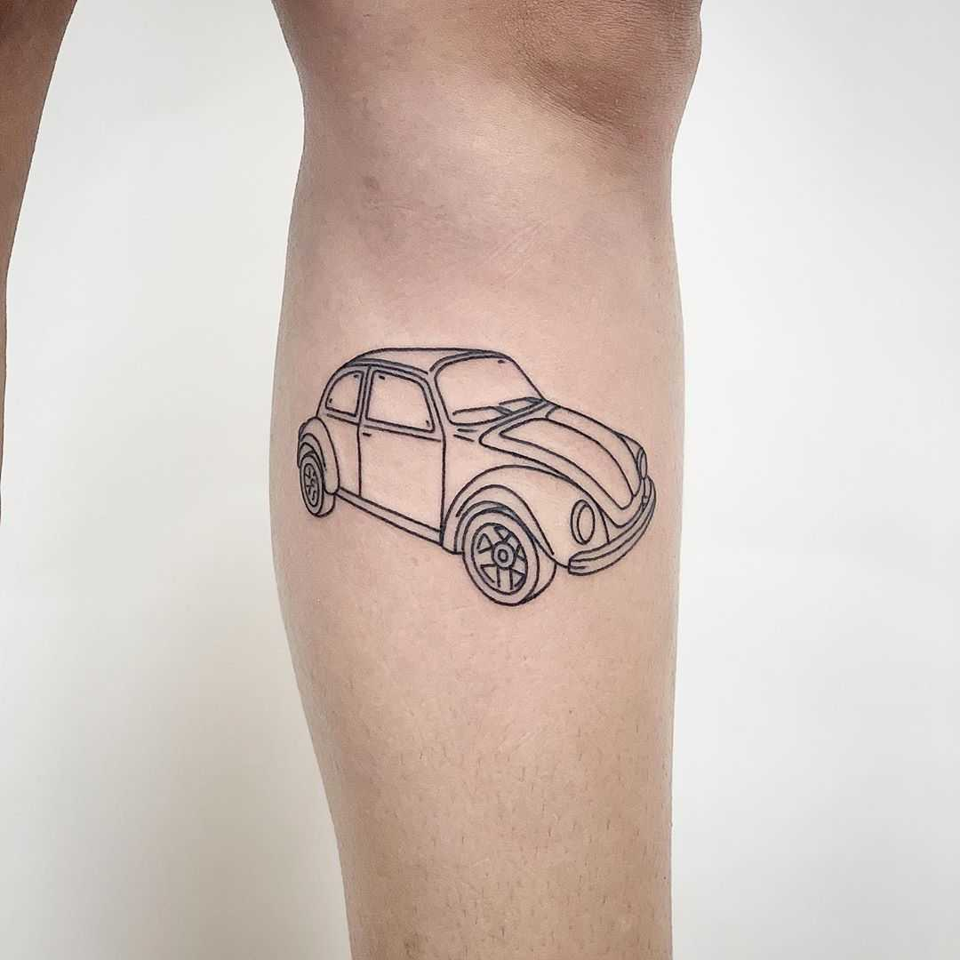 VW beetle by @themagicrosa