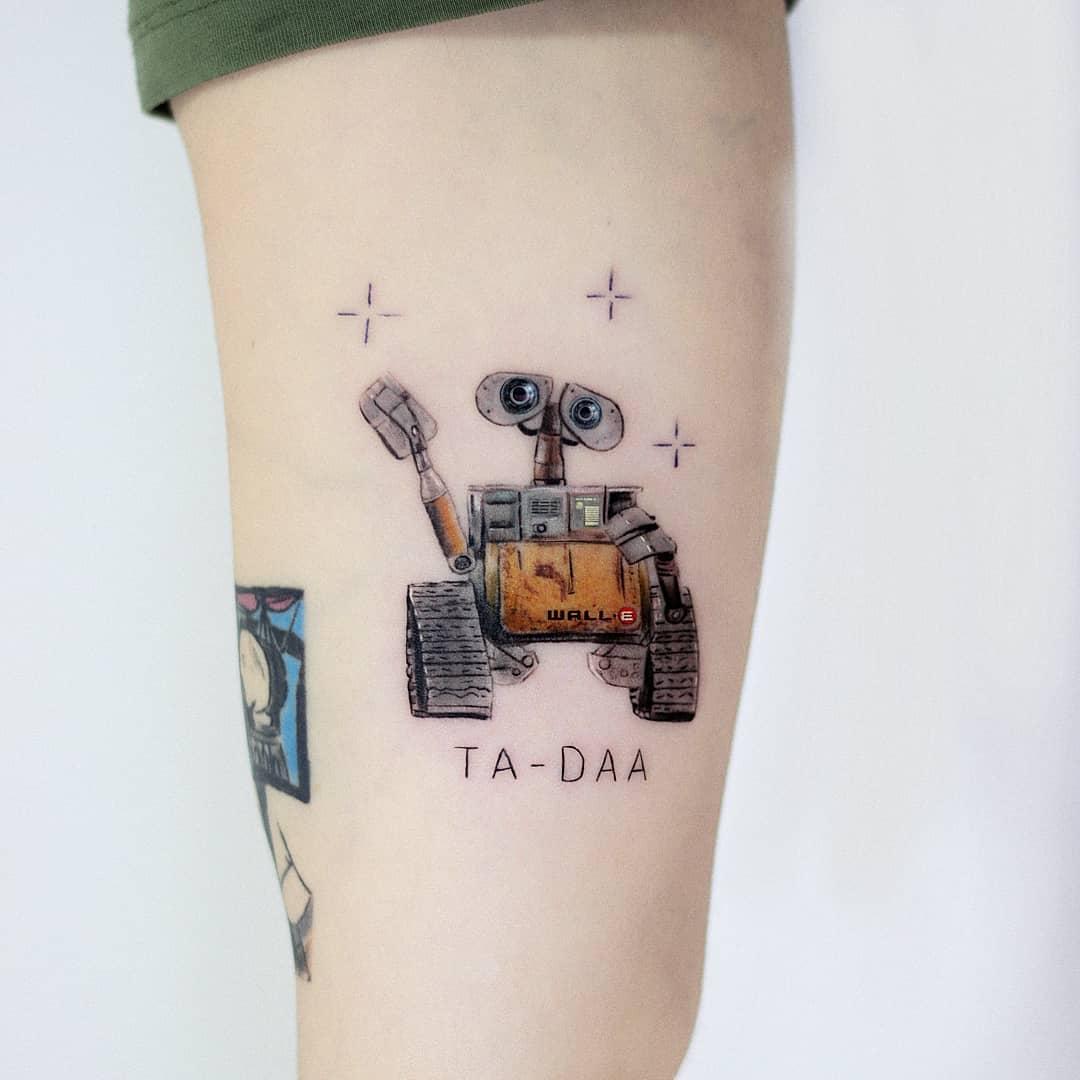 Wall-E tattoo by Hakan Adik