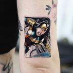 Wonder Woman tattoo by Hakan Adik