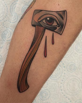 Axe with eye by @pau1terry_
