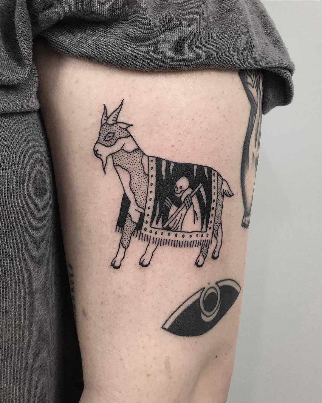 Goat's death by @skrzyniarz_