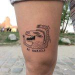 Godzilla by @skrzyniarz_
