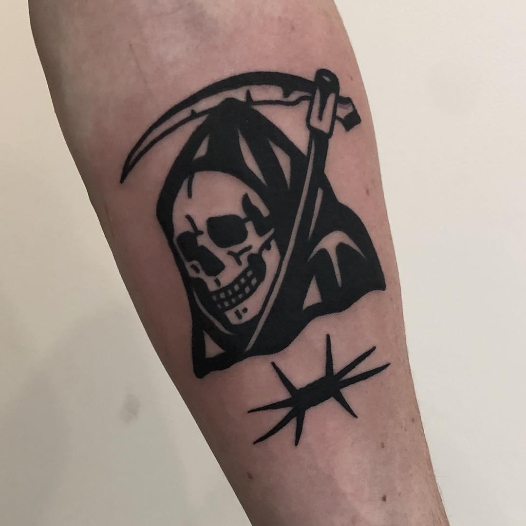 Grim reaper by @hanaroshinko