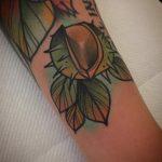 Little conker tattoo by @pau1terry_