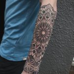 Mandala half sleeve by @pau1terry_