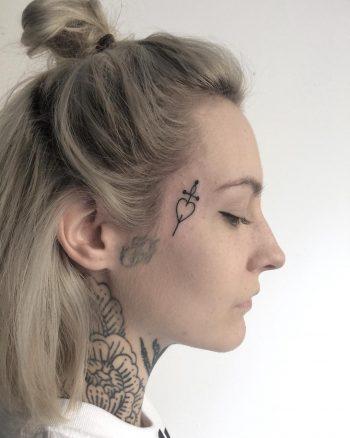Mini tattoo by @skrzyniarz_