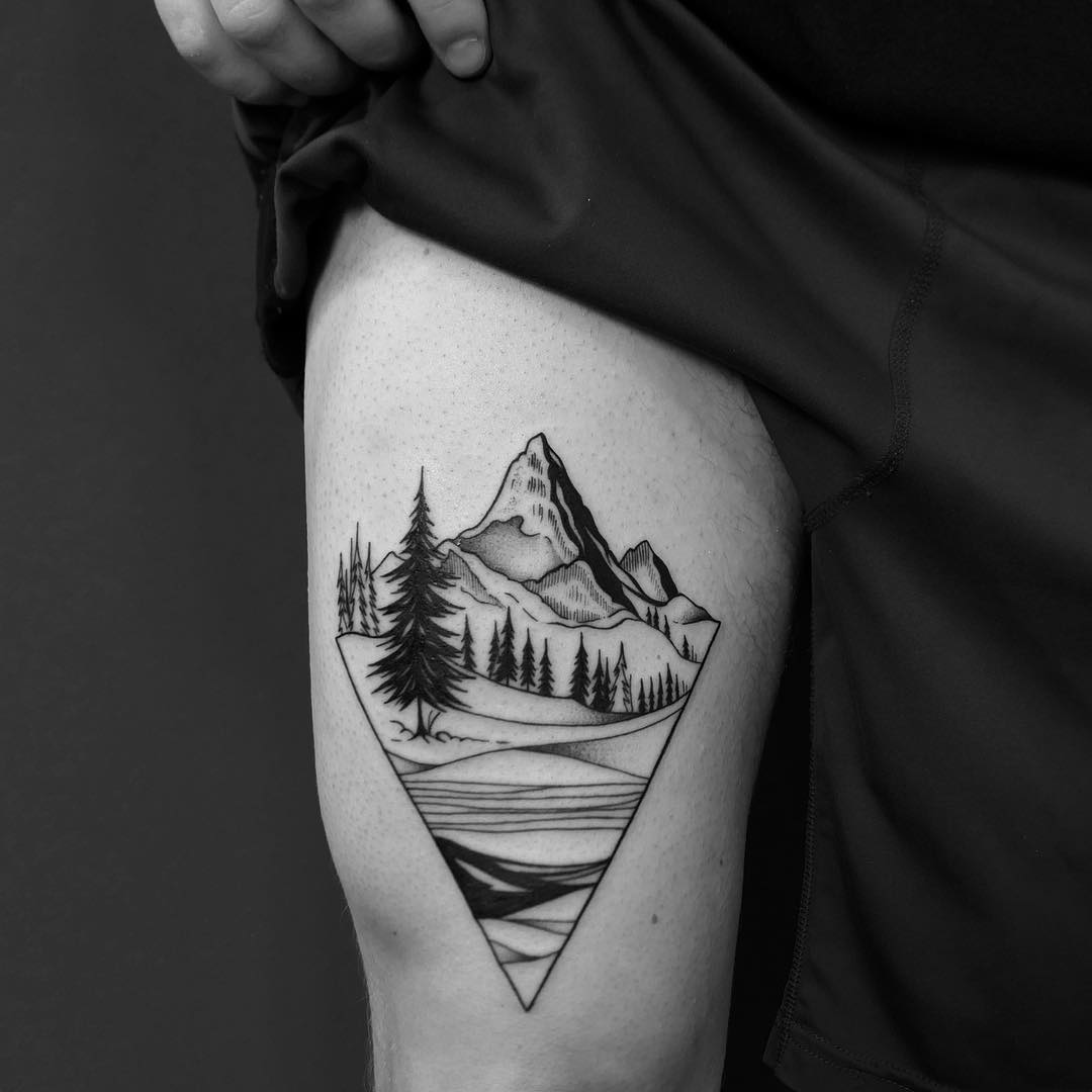 Mountain peak by @hala.chaya
