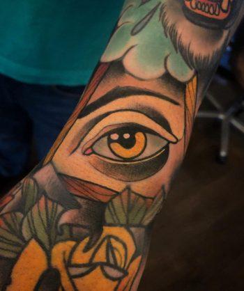 Neo-traditional eye by @pau1terry_