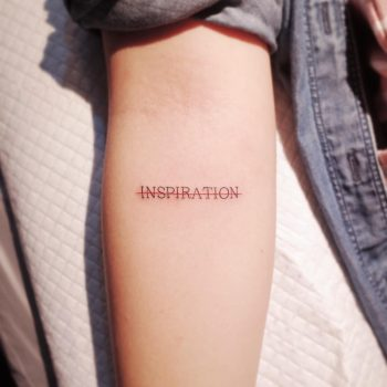No inspiration by @wittybutton_tattoo