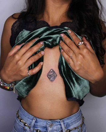 Octahedral diamond by Anya Tsyna
