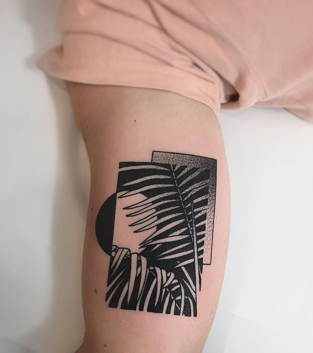 Palm leafs by @charley_gerardin